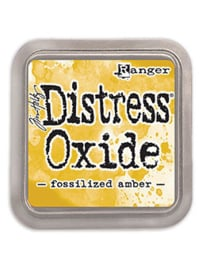 Distress Oxide: Fossilized Amber