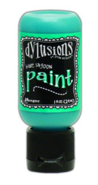 Blue Lagoon - Dylusions Paint - Flip Cap Bottle