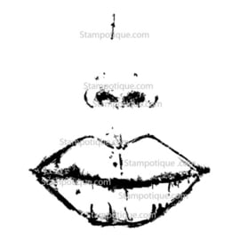 Stampotique - 14061- Hot Lips