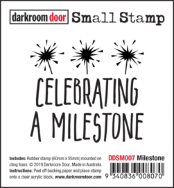 DarkroomDoor-Small Stamp Milestone