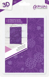 Crafters Companion - 3D EF - Blossoming Lace