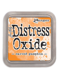 Distress Oxide: Carved Pumpkin
