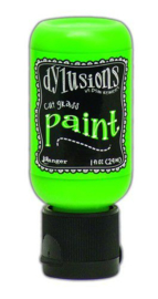 Cut Grass - Dylusions Paint - Flip Cap Bottle