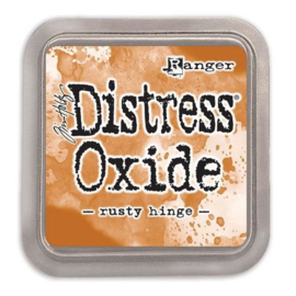 Distress Oxide: Rusty Hinge