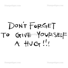 Stampotique - 4010 - Give Self a Hug