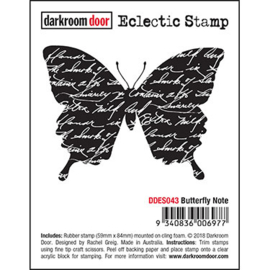 DarkroomDoor-Butterfly Note