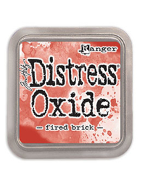 Distress Oxide: Fired Brick