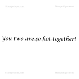 Stampotique - 8842 - You two are hot