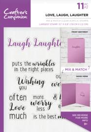 Crafter's Companion - Love, Laugh, Laughter