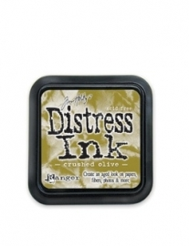 Distress inkt Crushed Olive