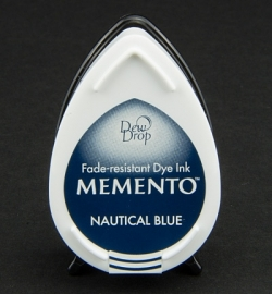 Memento Dewdrop: Nautical Blue