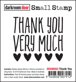 DarkroomDoor-Small Stamp Thank You