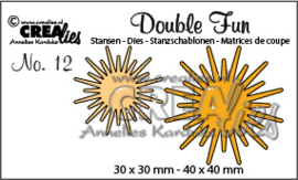 CreLi - Double Fun 12 zonnestralen