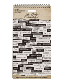 Big Chat Stickers - Tim Holtz