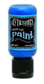 London Blue - Dylusions Paint - Flip Cap Bottle