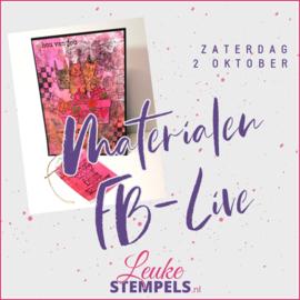 Live zaterdag 2 oktober 2021
