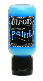 Blue Hawaiian - Dylusions Paint - Flip Cap Bottle
