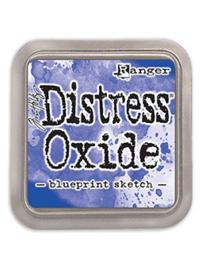 Distress Oxide: Blueprint Sketch