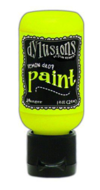 Lemon Drop - Dylusions Paint - Flip Cap Bottle