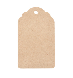 MDF tags(3 stks) 65x110mm