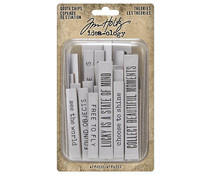 Tim Holtz Ideaology Quote Chips Theories