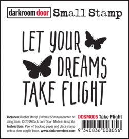 DarkroomDoor-Small Stamp Take Flight