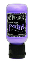 Laidback Lilac - Dylusions Paint - Flip Cap Bottle