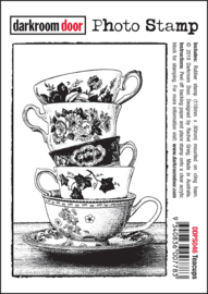 DarkroomDoor- Photo Stamp Teacups