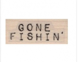 VivaLasVegaStamps - text Gone Fishin'