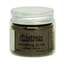 Distress Embossing Glaze - Walnut Stain