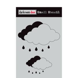 DarkroomDoor Cloud Set Small Stencil