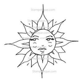 Stampotique - 2506 - Lady Sunshine