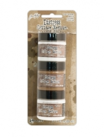 Distress Collage Mediums 3pk