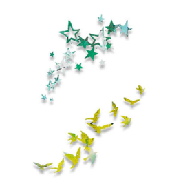 Sizzix Thinlits Birds & Stars