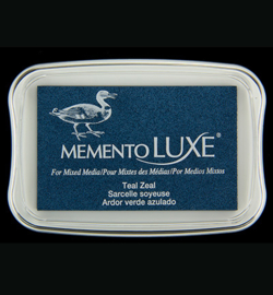 Memento Luxe Teal Seal
