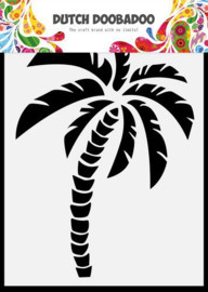 Dutch Doobadoo - A6 Mask Palmboom