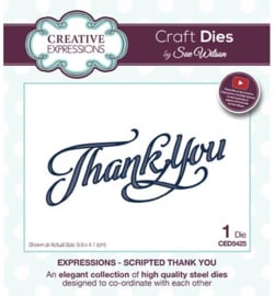 Creative Expressions - Scripted Thank You