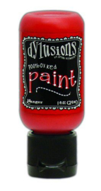 Postbox Red - Dylusions Paint - Flip Cap Bottle