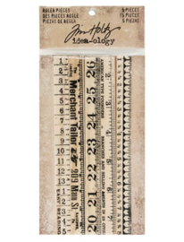 Tim Holtz Ideaology Ruler Pieces