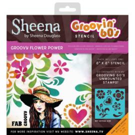 SD- Groovin' 60's Groovy Flower Power