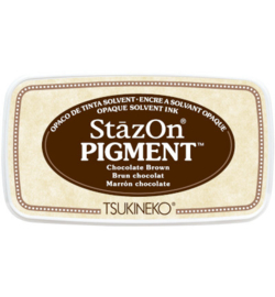 Stazon Pigment - Chocolate Brown