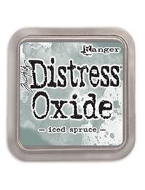 Distress Oxide: Iced Spruce