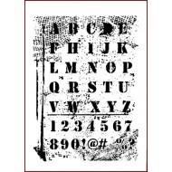 Qwerty stencil Imagination Crafts