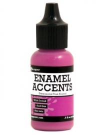 Enamel Accents: Wild Orchid