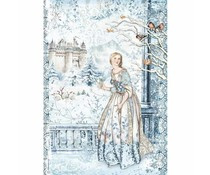 Stamperia - Fairy in the Snow