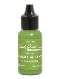 Enamel Accents: Leaf Green