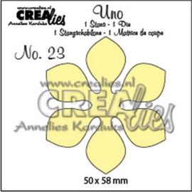 CreLi - Uno 23 Bloem