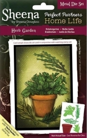 SD - Sheena PP Metal Die: Herb Garden