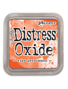 Distress Oxide:  Ripe Persimmon
