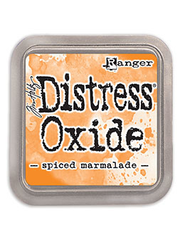 Distress Oxide: Spiced Marmelade